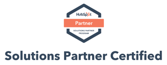 HubSpot Solutions Partner Certified